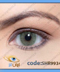 لنز چشم رنگی زیبایی بدون نمره بدون دور سبز خاکی روشن متوسط سالانه کوپاکابانا هیدروکور ریو برند سولوتیکا