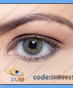 لنز چشم رنگی زیبایی بدون نمره بدون دور طوسی وسط سبز روشن سالانه آیپانما هیدروکور ریو برند سولوتیکا