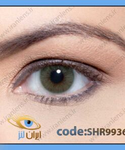 لنز چشم رنگی زیبایی بدون نمره بدون دور سبز خالص متوسط روشن سالانه بوژیوس هیدروکور ریو برند سولوتیکا
