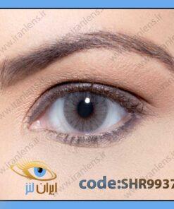 لنز چشم رنگی زیبایی بدون نمره بدون دور طوسی خالص متوسط روشن سالانه پاراتی هیدروکور ریو برند سولوتیکا