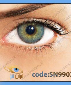 لنز چشم رنگی زیبایی بدون نمره دوردار طوسی سبز سالانه کوارتزو برند سولوتیکا