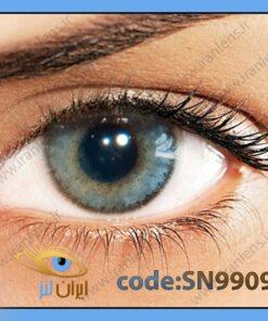لنز چشم رنگی زیبایی بدون نمره دوردار طوسی خاکستری آبی متوسط روشن سالانه گرافیت