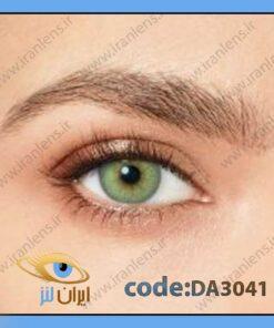 خرید لنز چشم رنگی زیبایی سبز لایت وسط عسلی دوردار فصلی چارمینگ گرین برند دسیو