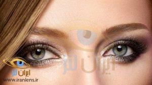 لنز دوردار مشکی رنگی چشم در تنوع رنگی بالا در سایت ایران لنز