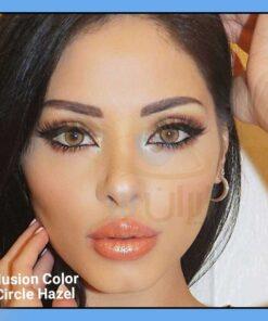 لنز رنگی عسلی سالانه برند ایلوژن کالرز