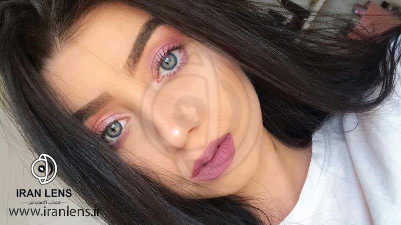 لنز رنگی طبیعی تقویت کننده