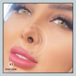 فروش لنز چشم رنگی تایگر برند کورال