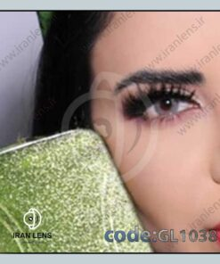 لنز رنگی تاندر گری طوسی روشن برند گلوریا