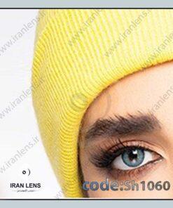 لنز رنگی آکوا فصلی آبی دوردار برند شیخ
