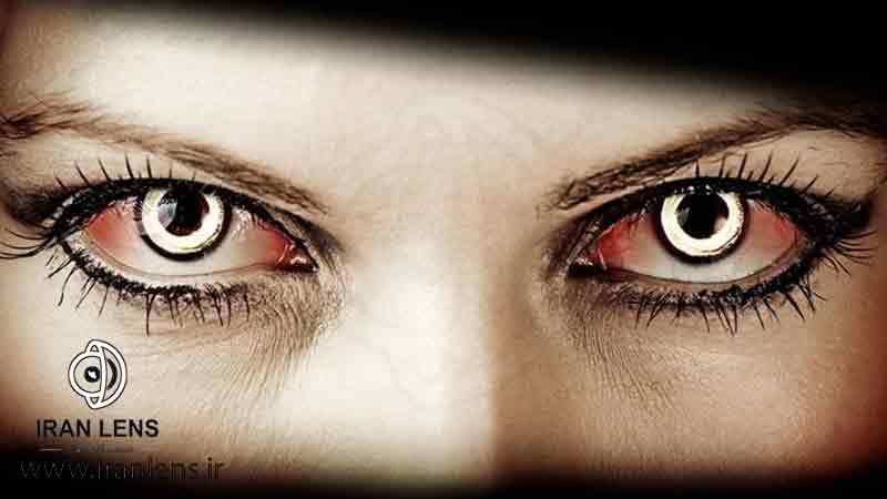 لنز چشمی هالووین