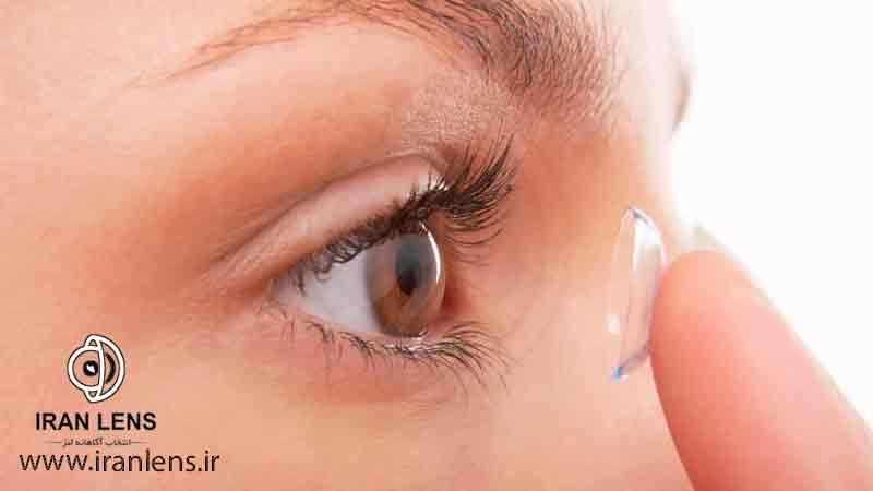 درمان نزدیک بینی با لنز طبی