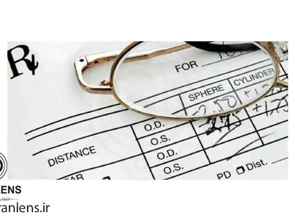 تبدیل نمره چشم عینک به لنز چشم طبی