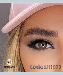 لنز چشم رنگی دیاموند براون