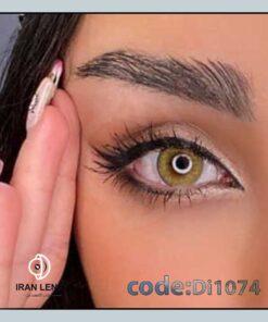 لنز رنگی دیاموند پرو خاکی