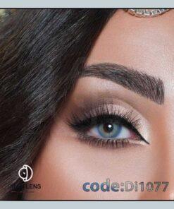 لنز چشم رنگی میامی بلو برند دیاموند