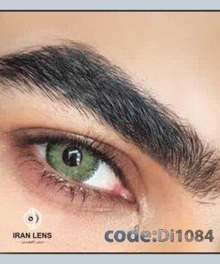 لنز رنگی ترکویز برند دیاموند سبز جنگلی دوردار