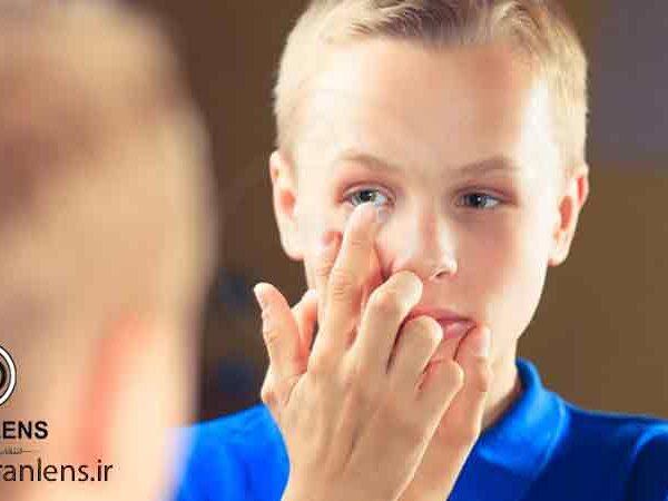 سن استفاده از لنز طبی چشمی