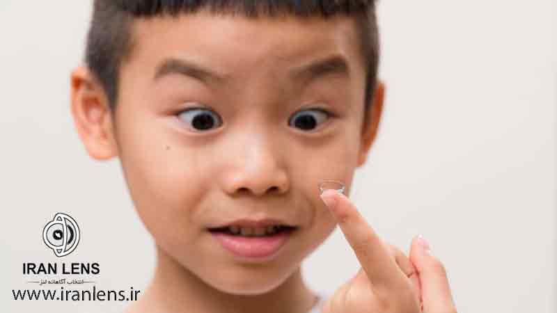درمان نزدیک با لنز طبی در کودکان