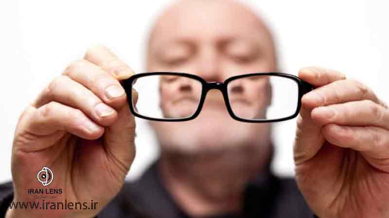 علت ابتلا به پیر چشمی