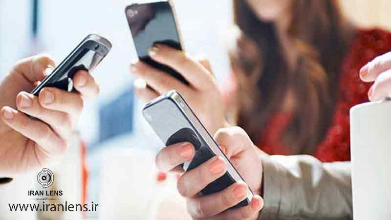 عوارض استفاده زیاد از موبایل بر روی چشم