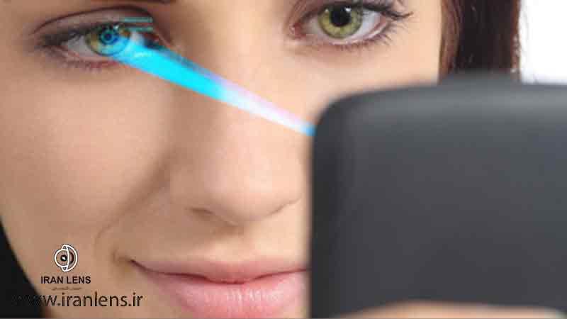 محافظت از چشم در برابر نور آبی در موبایل