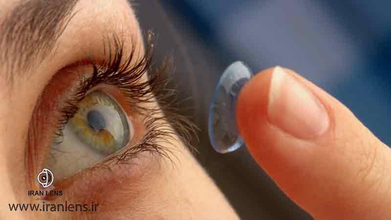لنز طبی ساقت یا نرم