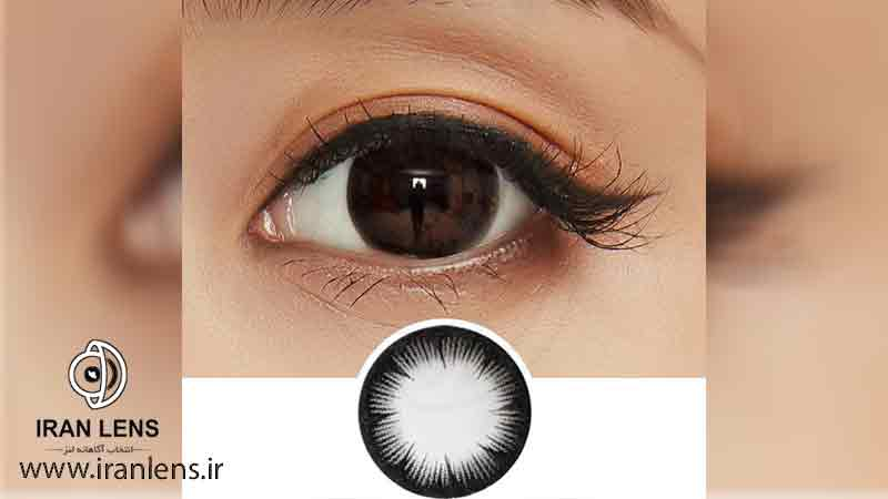 درشت کردن چشم با لنز