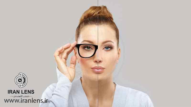 جایگزین کردن لنز چشم با عینک طبی
