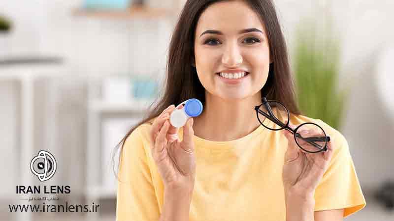 مزایای استفاده از لنز چشم برای دختران